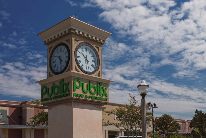 Publix clock tower